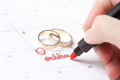 Planification de mariage Images stock