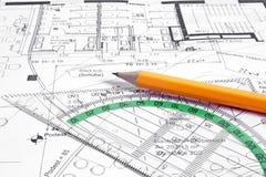 Planification de projet Image libre de droits