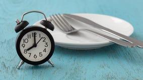 Planification de repas pour le concept de régime photos stock