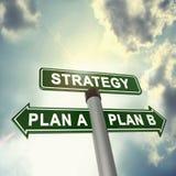 Planification de stratégie Image libre de droits