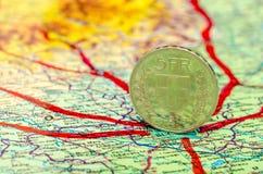 Planification de voyage Photos libres de droits