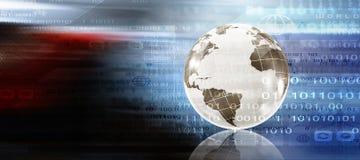 Planification des affaires globale illustration de vecteur