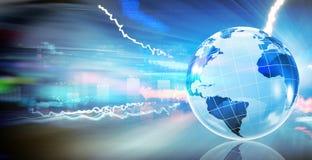 Planification des affaires globale illustration libre de droits