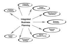 Planification des affaires intégrée illustration stock