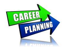 Planification des carrières dans les flèches Photos stock