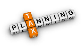 Planification des impôts Images stock