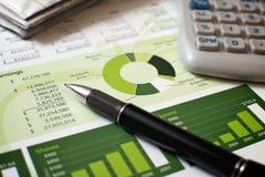 Planification financière Photo libre de droits