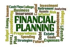 Planification financière illustration de vecteur