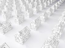 Planification pour une maison neuve Image libre de droits