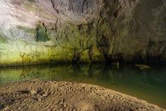 Planina grotta Arkivfoton