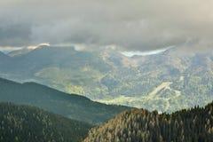 Planina Konjscica Alpi di Julian slovenia Fotografia Stock Libera da Diritti