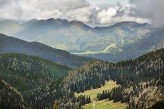 Planina Konjscica Alpi di Julian slovenia Immagine Stock