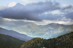 Planina Konjscica Alpi di Julian slovenia Fotografie Stock