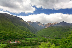山planina stara 图库摄影