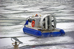 Planing hovercraft Royalty Free Stock Image