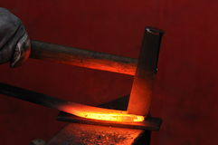 Planishing Hammer stockfotografie
