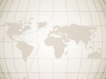Planisphere background. Pale brown background with the shape of a planisphere Royalty Free Stock Photography
