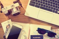 Planistyczny wakacje lub podróży wycieczki pojęcie Zdjęcie Royalty Free