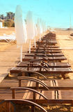 Plank beds Stock Images