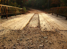 Plank Bridge Royalty Free Stock Images