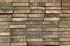 Plank Ends Royalty Free Stock Photos