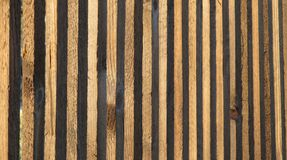 Plank fence Stock Photos