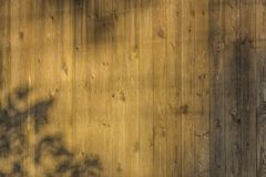 Plank fence Stock Images