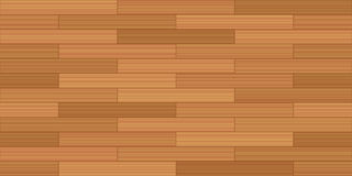 Plank Floor Brick Bond Parquet Seamless Pattern. Brick bond parquet - vector illustration of a typical parquetry pattern - seamless extension of this wooden Stock Images