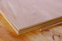 Plank for making furniture Royalty Free Stock Photo