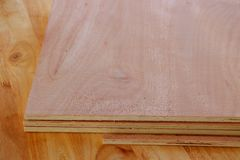 Plank for making furniture Stock Image