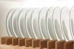Plank met keukengerei Royalty-vrije Stock Afbeelding