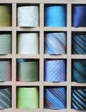 Plank met kleurenbanden Stock Fotografie
