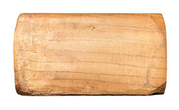 Plank of old wood. Royalty Free Stock Images
