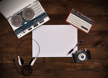 Plank paper. Stock Image