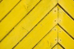 Plank texture. Yellow wooden boards texture Stock Photos