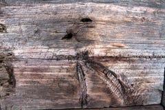 Plank van oud hout Royalty-vrije Stock Afbeelding
