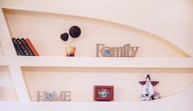 Plank voor boekenplank voor herinneringen Royalty-vrije Stock Afbeelding