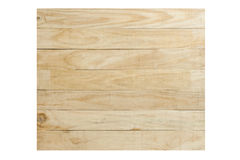 Plank wood isolated Royalty Free Stock Photography