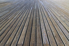 Plank wooden floor Royalty Free Stock Image