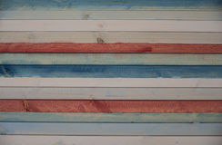 Plank for your background. Background of wooden colored planks useful for writing a message Stock Photo