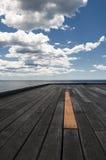 Planke Stockbild