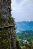 Planke Enshi Grand Canyon Lizenzfreie Stockfotografie