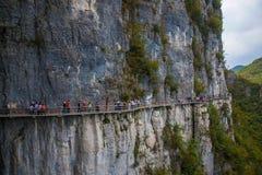 Planke Enshi Grand Canyon Lizenzfreie Stockfotos