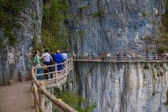Planke Enshi Grand Canyon Stockbilder