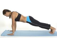 Planke-Haltung 1 Stockbilder