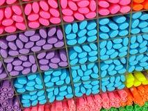 Planken van pennen stock afbeelding