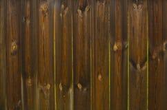 Plankenzaun Stockbild