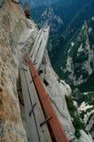 Plankepfad Stockfoto