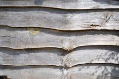 Planking cinzento áspero Fotos de Stock