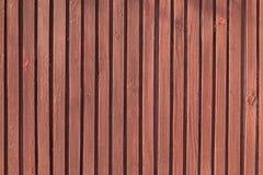 Planking en bois de Brown Photo libre de droits